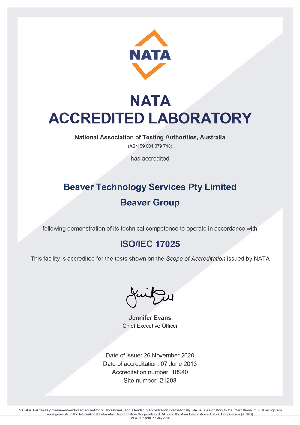 Nata Certificate Thumb